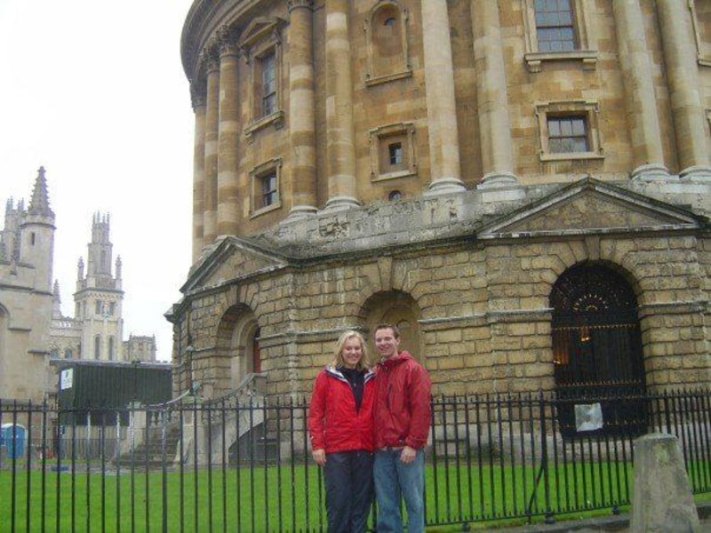 John & Nellie in Oxford