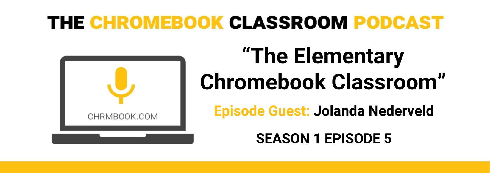Chromebooks In Elementary Classrooms With @NedTechOP