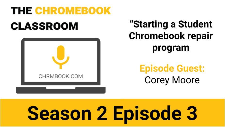 Student Chromebook Repair Program With @mrmoorefhs