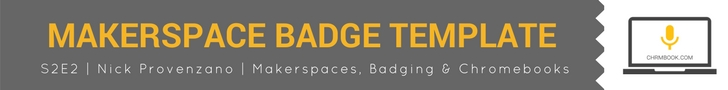 Download: Makerspace badge template