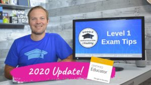 2020 Level 1 Google Educator Exam Review