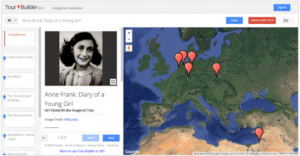 Anne Frank Map