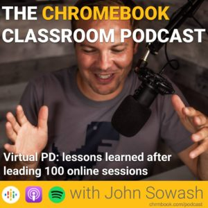 Virtual PD: lessons learned after leading 100 online sessions