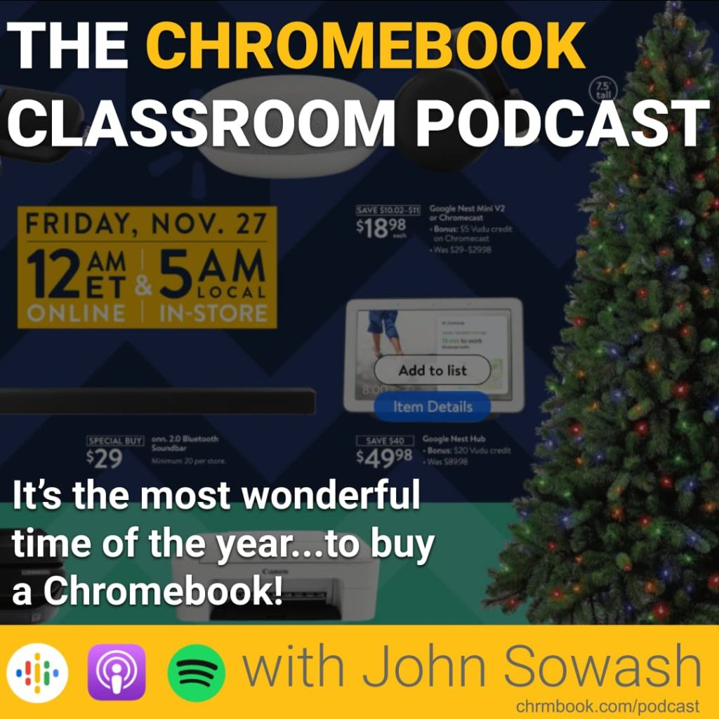 It's the most wonderful time of the year...to buy a Chromebook!