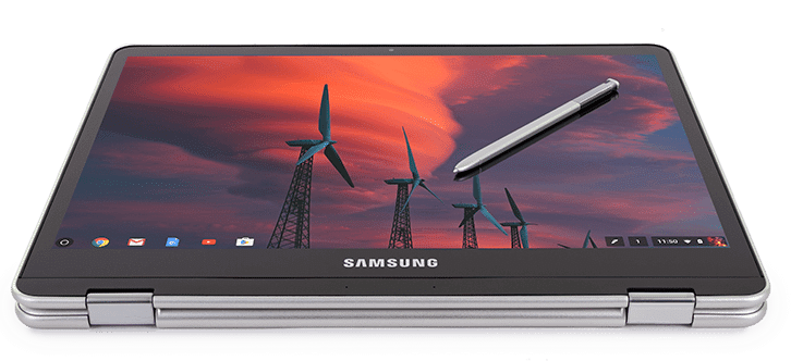 Samsung Chromebook Plus Tablet