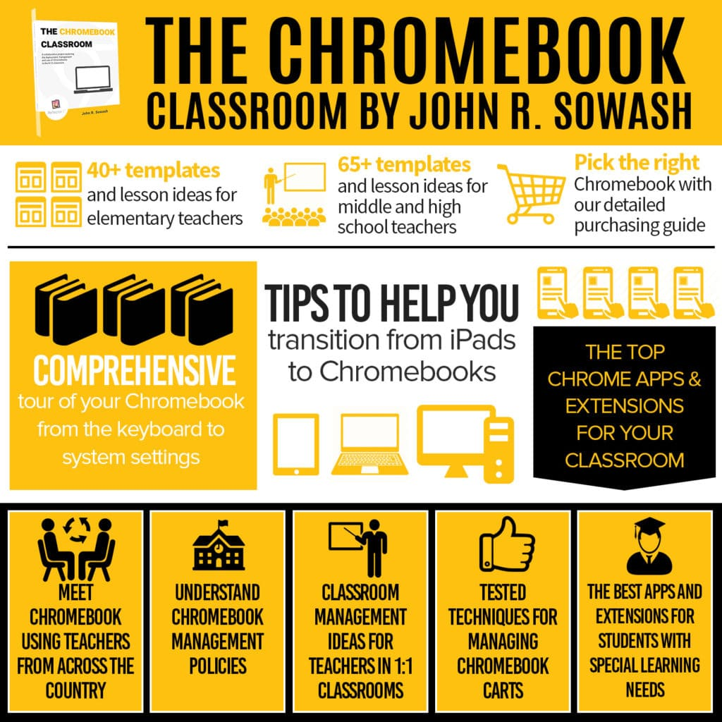 Teaching with Chromebooks? You need a copy of The Chromebook Classroom!