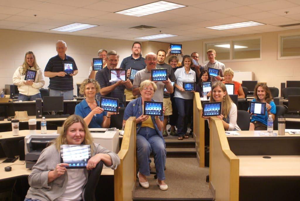 SCS iPad program, 2011