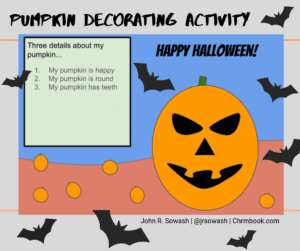 Pumpkin Decorating Activity