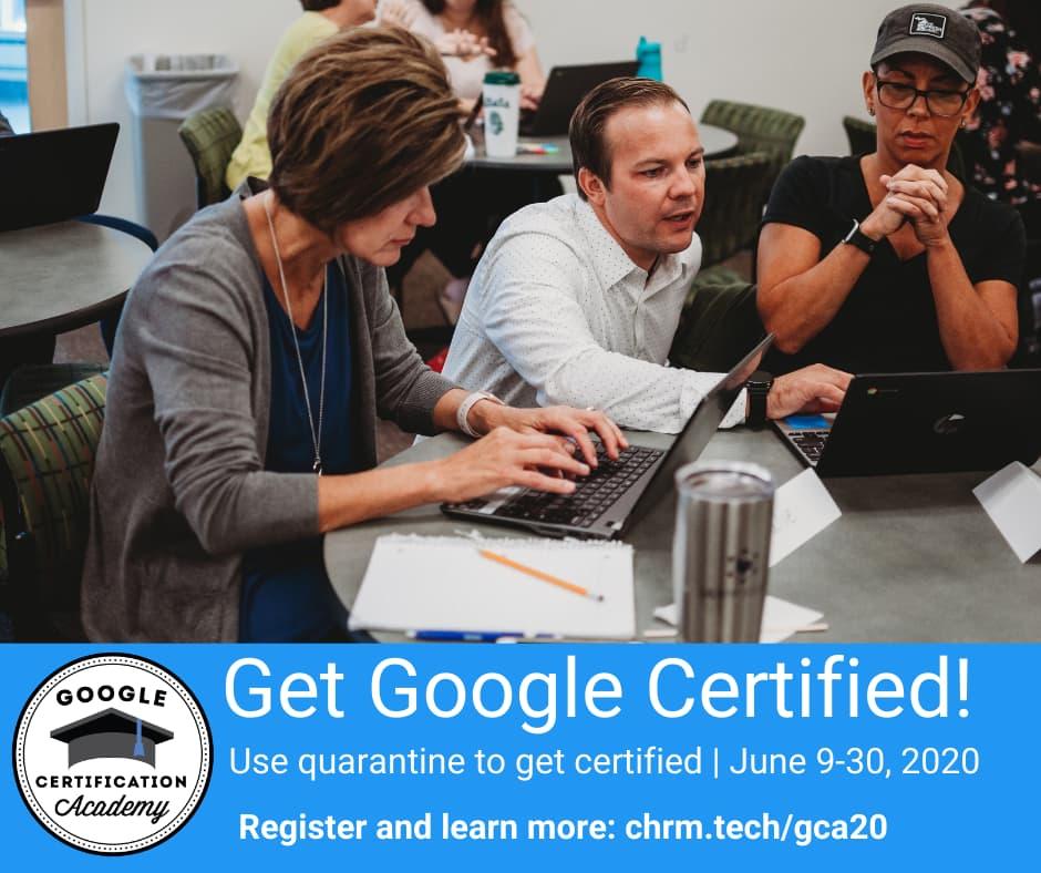 Summer Google Certification Academy