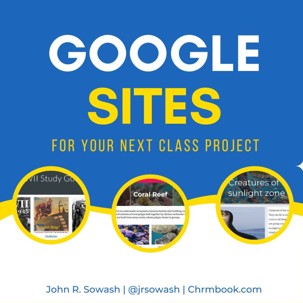 Google Sites for your next class project
