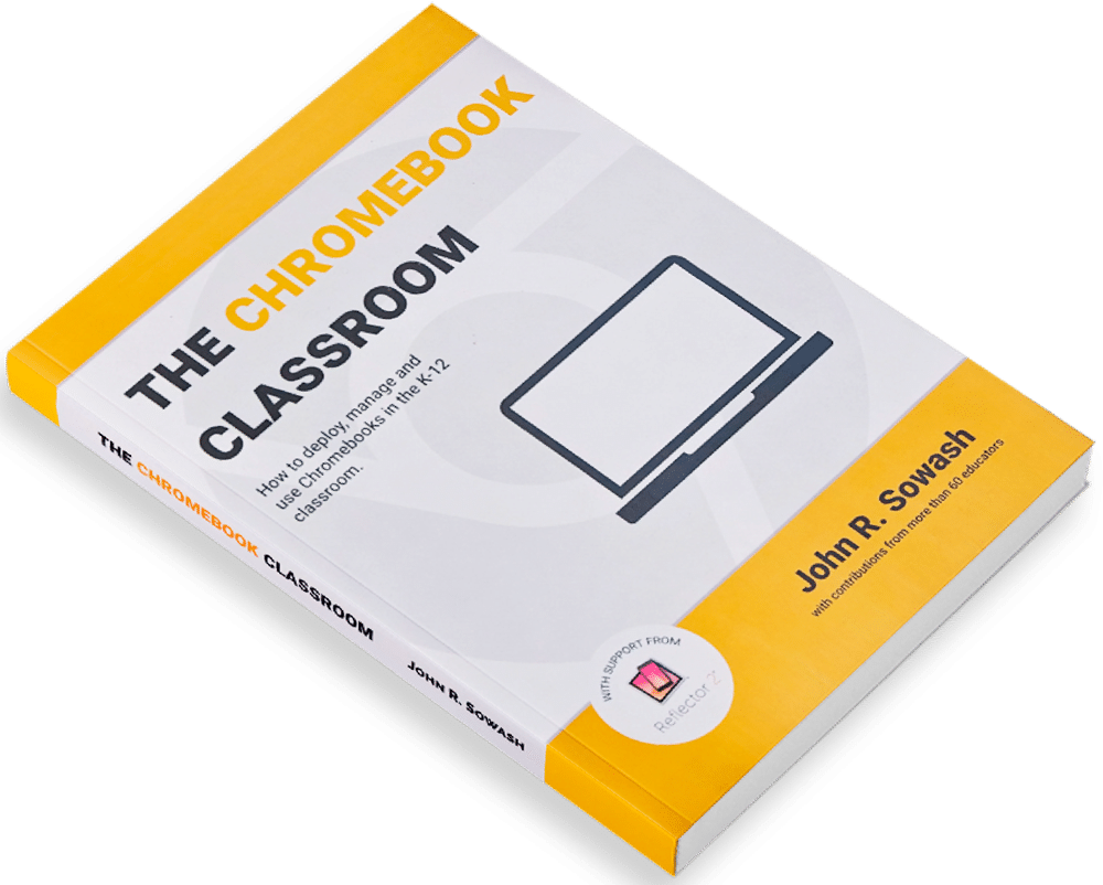 Teaching with Chromebooks? You need a copy of The Chromebook