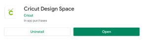 Design Space in the Google Play Store