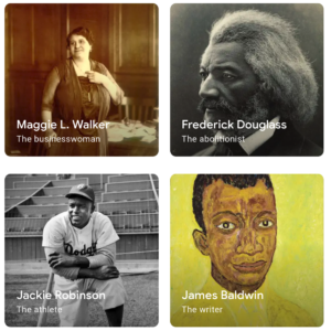 Black history month with Google Arts & Culture