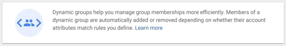 Dynamic group membership