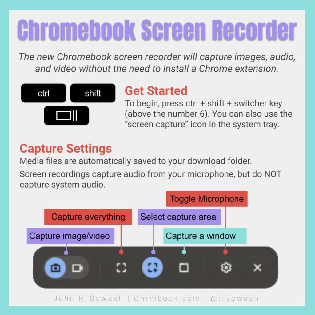 Chromebook Screen Recorder