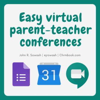 Virtual parent-teacher conferences