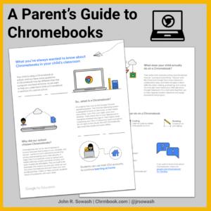 A Parent's guide to Chromebooks